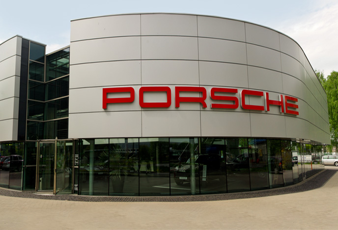 salon porsche centrum Poznań